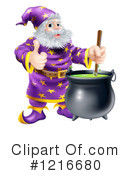 Royalty-Free (RF) Wizard Clipart Illustration #1216680