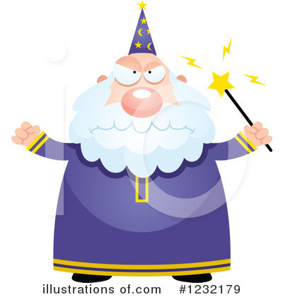 Wizard Clipart #1232179 by Cory Thoman
