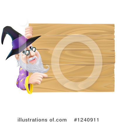Wizard Clipart #1240911 by AtStockIllustration