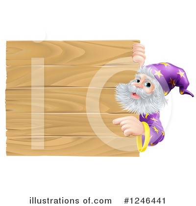Wizard Clipart #1246441 by AtStockIllustration