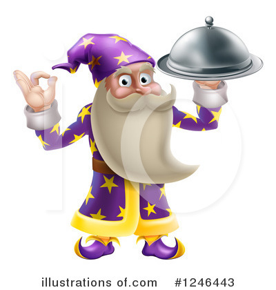 Wizard Clipart #1246443 by AtStockIllustration