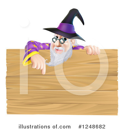 Wizard Clipart #1248682 by AtStockIllustration