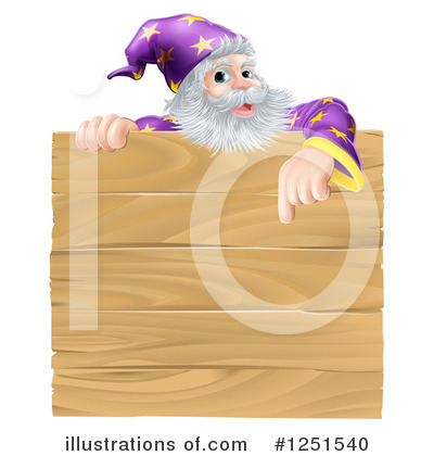 Wizard Clipart #1251540 by AtStockIllustration
