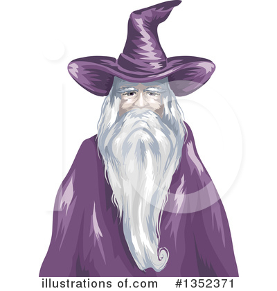 Wizard Clipart #1352371 by BNP Design Studio