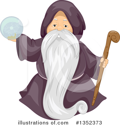 Wizard Clipart #1352373 by BNP Design Studio