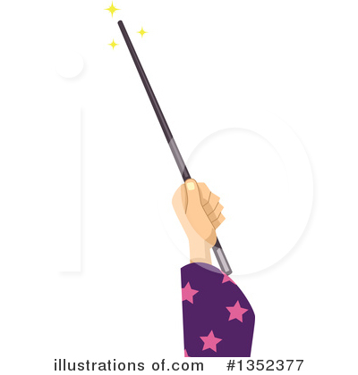Wizard Clipart #1352377 by BNP Design Studio