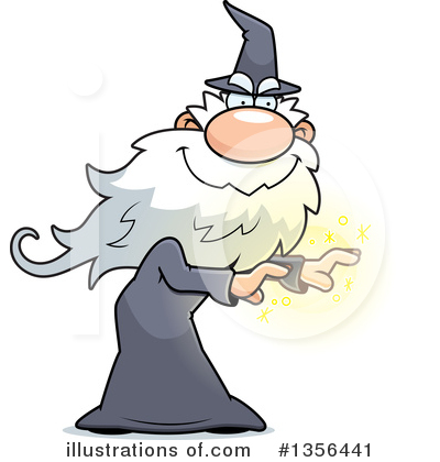 Royalty-Free (RF) Wizard Clipart Illustration by Cory Thoman - Stock Sample #1356441