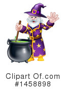 Royalty-Free (RF) Wizard Clipart Illustration #1458898