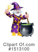 Royalty-Free (RF) Wizard Clipart Illustration #1513100