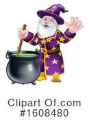 Wizard Clipart #1608480 by AtStockIllustration