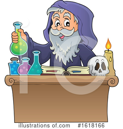 Wizard Clipart #1618166 by visekart
