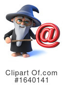 Wizard Clipart #1640141 by Steve Young