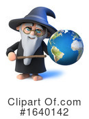 Wizard Clipart #1640142 by Steve Young
