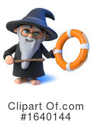 Wizard Clipart #1640144 by Steve Young