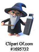 Wizard Clipart #1695732 by Steve Young