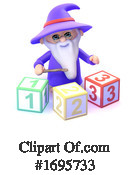 Wizard Clipart #1695733 by Steve Young