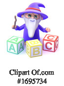 Wizard Clipart #1695734 by Steve Young