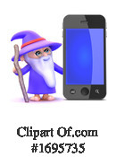 Wizard Clipart #1695735 by Steve Young