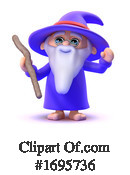 Wizard Clipart #1695736 by Steve Young