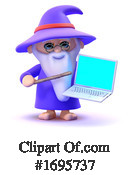 Wizard Clipart #1695737 by Steve Young
