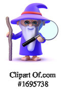 Wizard Clipart #1695738 by Steve Young