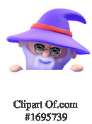 Wizard Clipart #1695739 by Steve Young
