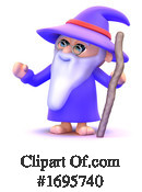 Wizard Clipart #1695740 by Steve Young