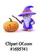 Wizard Clipart #1695741 by Steve Young