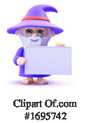 Wizard Clipart #1695742 by Steve Young