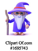 Wizard Clipart #1695743 by Steve Young