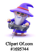 Wizard Clipart #1695744 by Steve Young