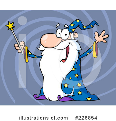 Wizard Clipart #226854 by Hit Toon