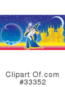 Wizard Clipart #33352
