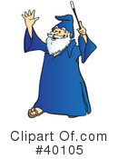 Wizard Clipart #40105 by Snowy