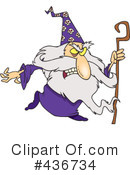 Wizard Clipart #436734 by toonaday