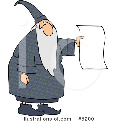 Wizard Clipart #5200 by djart