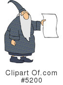 Wizard Clipart #5200