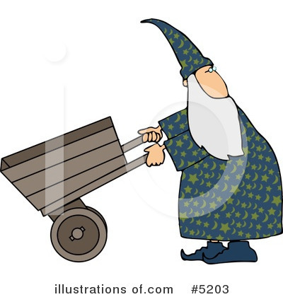Wizard Clipart #5203 by djart
