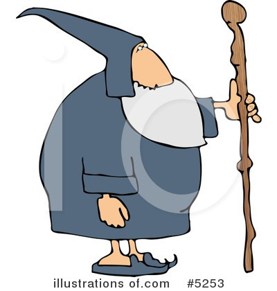 Wizard Clipart #5253 by djart