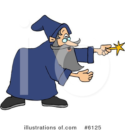 Wizard Clipart #6125 by djart