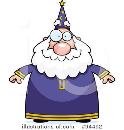 Wizard Clipart #94492 by Cory Thoman