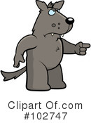 Royalty-Free (RF) Wolf Clipart Illustration #102747
