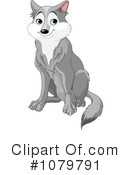 Royalty-Free (RF) Wolf Clipart Illustration #1079791