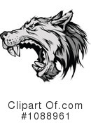 Royalty-Free (RF) Wolf Clipart Illustration #1088961