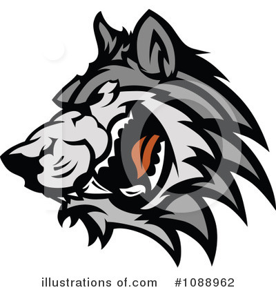 Wolf Clipart #1088962 by Chromaco