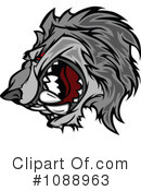 Royalty-Free (RF) Wolf Clipart Illustration #1088963
