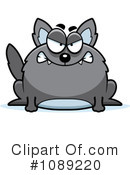 Royalty-Free (RF) Wolf Clipart Illustration #1089220