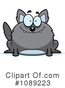 Wolf Clipart #1089223 by Cory Thoman