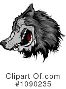 Royalty-Free (RF) Wolf Clipart Illustration #1090235