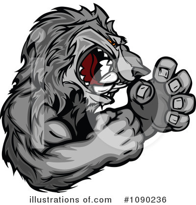 Wolf Clipart #1090236 by Chromaco